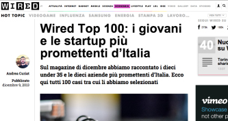 Slevin nella TOP 100 di Wired Italia!